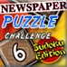 Newspaper Puzzle Challenge - Sudoku Edition Game